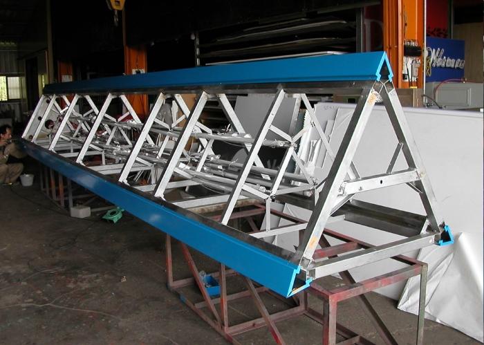 鐵架製作、安裝 1