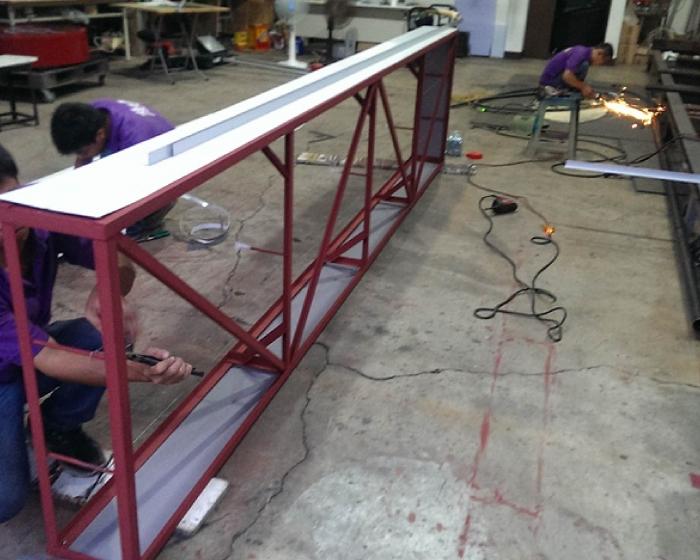 鐵架製作、安裝 2